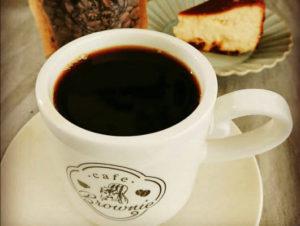 厳選した豆で挽いたコーヒー
